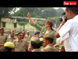 Bollywood actress Huma Qureshi visits to IGCL Gorakhpur, fans went crazy