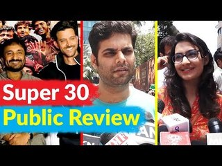 Super 30 Movie PUBLIC REVIEW : Audiences have Tears in Their Eyes