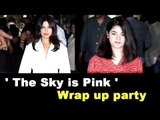 Priyanka Chopra and Zaira Wasim sizzle at 'The Sky Is Pink Wrap Up Party'