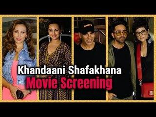 Khandaani Shafakhana : Special Screening | Sonakshi Sinha | Akshay Kumar | Badshah | Iulia Vântur