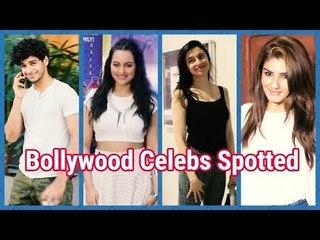 Sonakshi, Raveena to Ishaan Khattar spotted in & around Mumbai