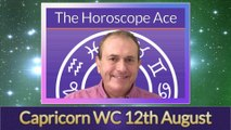 Capricorn Weekly Astrology Horoscope 12th August 2019