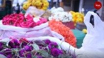 As rains lash in Karnataka, flower prices rise in Bengaluru