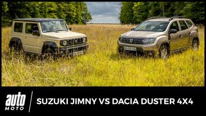 Dacia Duster 4x4 vs Suzuki Jimmy : polyvalent ou baroudeur
