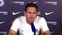 Lampard talks about David Luiz's transfer deadline day departure to Arsenal