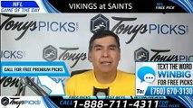 Vikings vs Saints NFL Pick 8/9/2019
