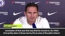 (Subtitled) 'I have players in that role' Lampard David Luiz departure for Arsenal