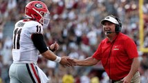 How Did Georgia's Kirby Smart Handle Recent Quarterback Battles?
