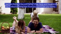 How to Celebrate Sons and Daughters Day (Sunday, August 11)