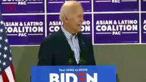 Joe Biden's Campaign Says He Misspoke When He Said : 'Poor Kids' Are 'Just as Talented as White Kids'