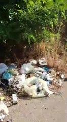 Andria rifiuti abbandonati nei pressi del Ponte strada provinciale 231