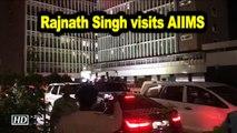 Jaitley in AIIMS ICU; Rajnath Singh visit hospital