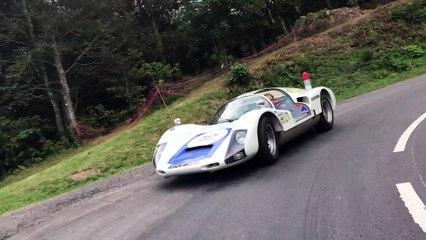 La descente du Ballon d'Alsace dans la roue de la Porsche 906 de Jean-Louis Farçat