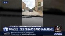 De très grosses rafales de vents et des grêlons ont frappé la Marne, selon le maire de Fère-Champenoise