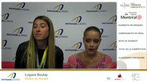 Championnats québécois d'été 2019 présenté par Kloda Focus, Pré-Novice Dames gr.3, prog. libre, Pré-Novice Messieurs, prog. libre et Junior Dames gr.1, prog court