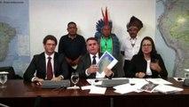 Cosa ci fa Bolsonaro con i capi indios? Li spinge a vita moderna
