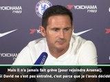 """Chelsea - Lampard : """"David Luiz n'a jamais fait grève"""""""