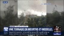 """""""La bourrasque était forte et nous avons eu très peur."""" : cet habitant de Longwy raconte comment la tornade a traversé la ville"""