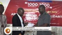 Bénin : INITIATIVE ''1000 KITS SCOLAIRES,1000 BALLONS A L'ECOLE''