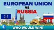 European Union (EU) vs Russia 2017 - Who Would Win - Army / Military Comparison