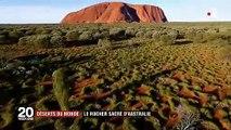 Australie : le rocher sacré du désert