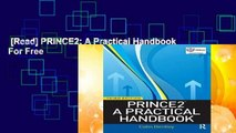 [Read] PRINCE2: A Practical Handbook  For Free