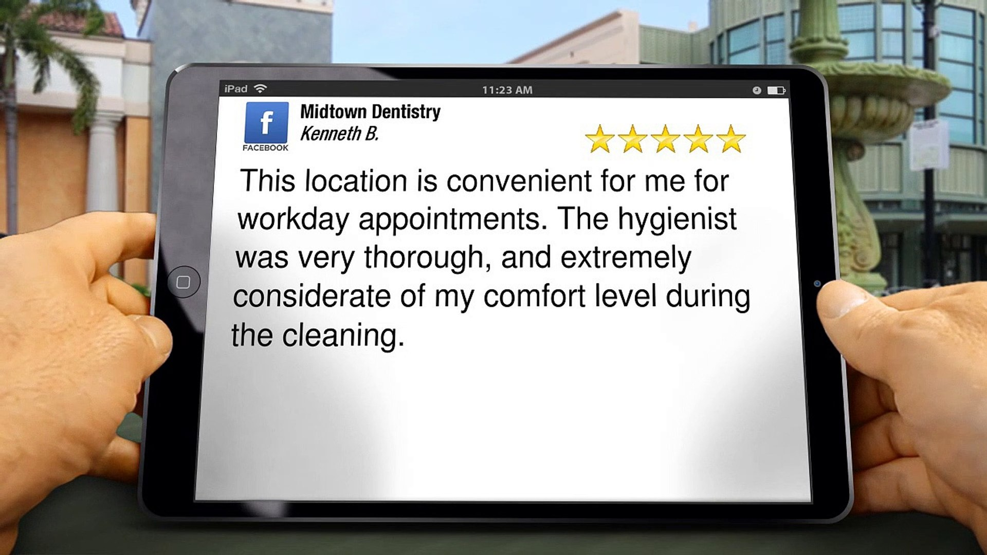 Midtown Dentistry HoustonGreat5 Star Review by Kenneth Baker