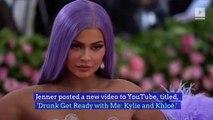 Kylie Jenner and Khloé Kardashian Post Drunk Makeup Tutorial