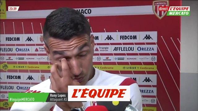 Rony Lopes «Le carton rouge a changé le match» - Foot - L1 - Monaco