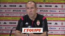 Jardim «On commet des erreurs importantes» - Foot - L1 - Monaco