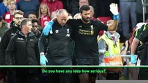 Alisson injury the only negative - Klopp