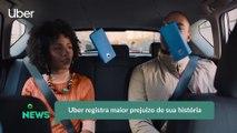 Uber registra maior prejuízo de sua história