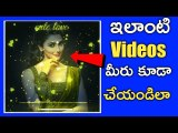 Make whatsapp status video in telugu  2019