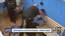 Phoenix police fire officer who slapped handcuffed suspect