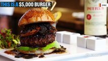The World's Most Expensive Burger Costs $5,000
