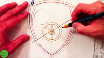 How to Draw the Arsenal FC Logo