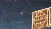 NASA Astronaut Sees 'UFO' Near Space Station - Video