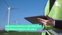 Amazon dévoile ses derniers projets d'énergie renouvelable