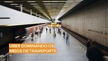Uber começa a vender passagens de transportes públicos