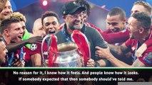 'Enough celebration' - Klopp focused on new season
