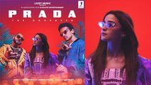 Alia Bhatt shares first look at her debut music video Prada | FilmiBeat