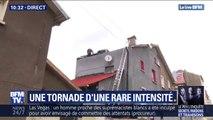 Meurthe-et-Moselle: après la tornade, les habitants de Herserange commencent à réparer les dégâts