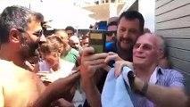 Matteo Salvini, de la política de twitter al mitin de chiringuito