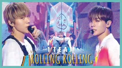 [HOT] 1TEAM -  ROLLING ROLLING,  1TEAM - 롤링롤링 Show Music core 20190810