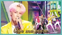 [HOT] VAV - Give me more,  브이에이브이 - Give me more Show Music core 20190810