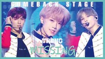 [Comeback Stage]  TRCNG - MISSING,  티알씨엔지 - MISSING Show Music core 20190810