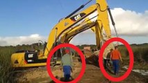 World Dangerous Idiots Bulldozers Heavy Equipment Excavator Trucks Fastest Operator Fails Skill