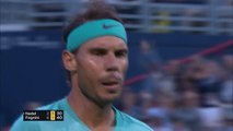 Fognini outlasts Nadal in one of the rallies of the year