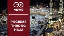 25 Lakh Hajj Pilgrims Converge On Mecca