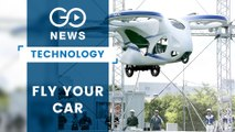 Japan Firm Tests Flying Car